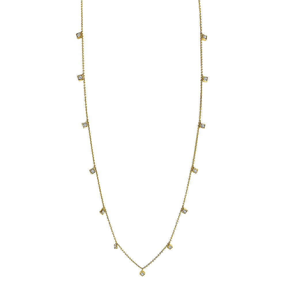 Lex Diamond By The Yard Necklace