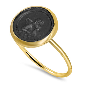 Angel Coin Ring