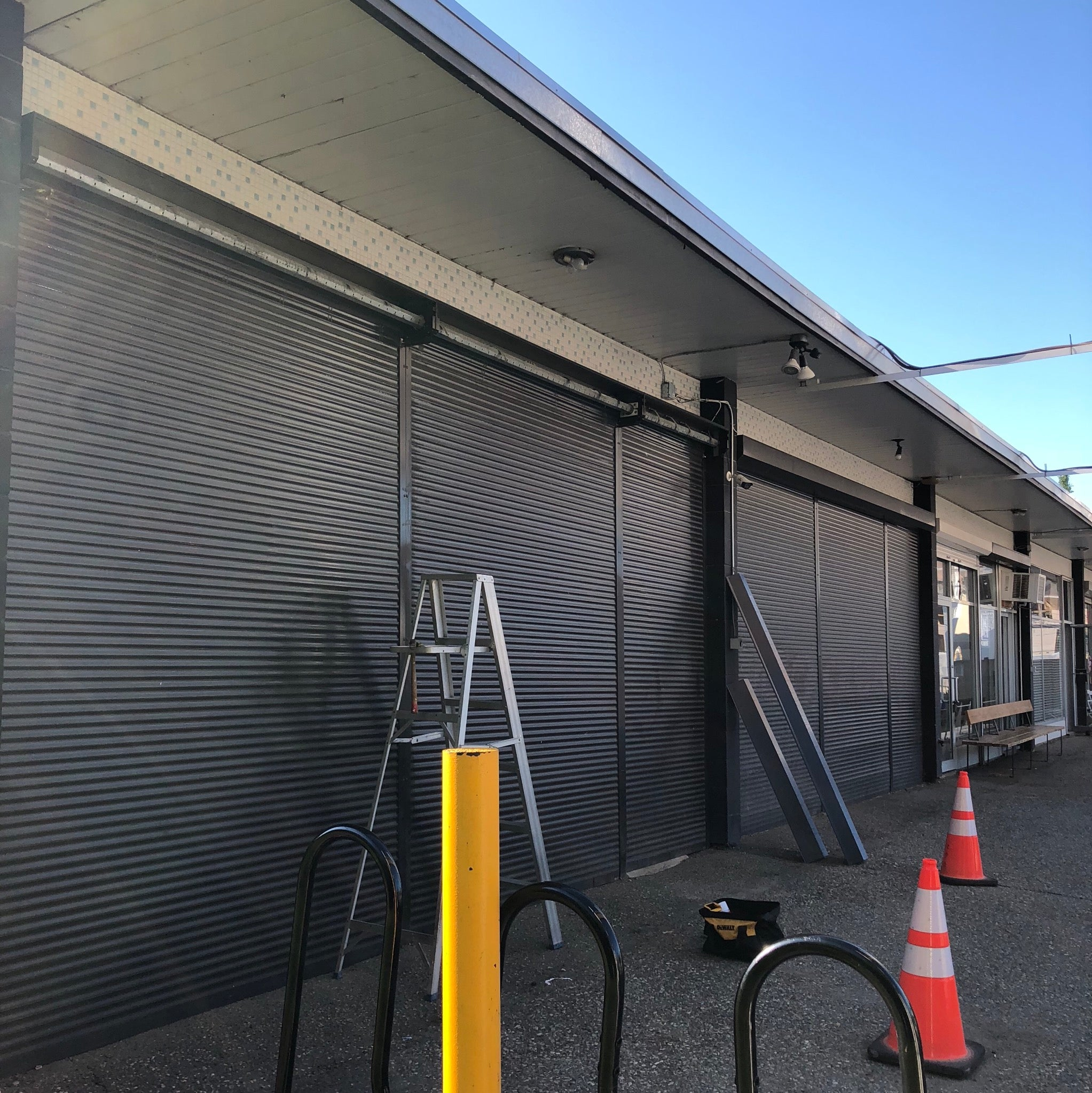 All Guard Shutters retail storefront security   security shutter ltd.