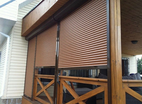 roll up shed doors