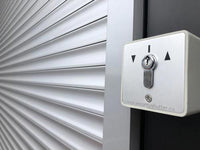 Commercial security roll shutters
