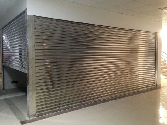 Galvanized Steel Roll Shutters Industrial Grade Security