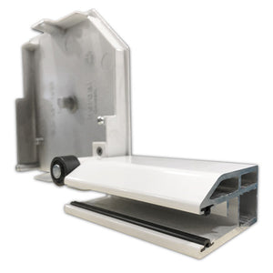 Aluminum Security Guide Rail with end retention
