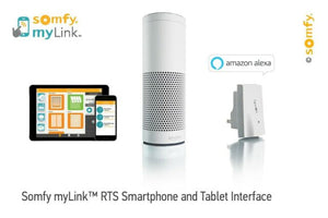 how to set up Somfy myLink