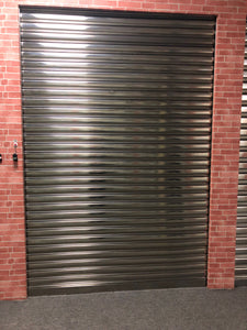 polished stainless steel shutters