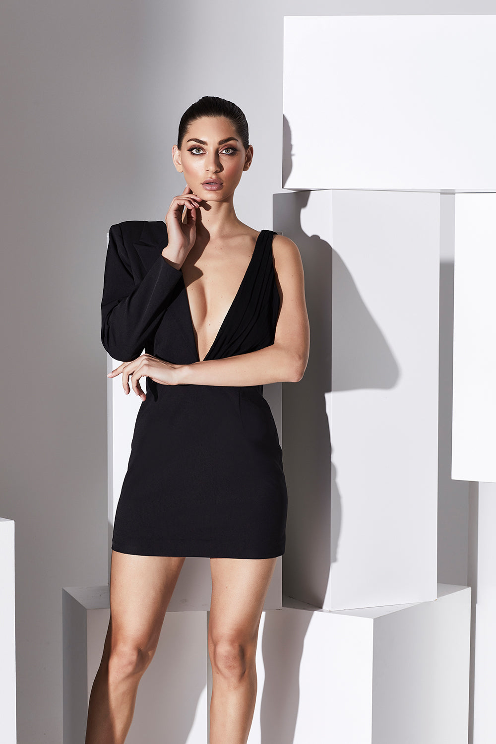 Reign Cartel Alexia Lapel Mini Dress