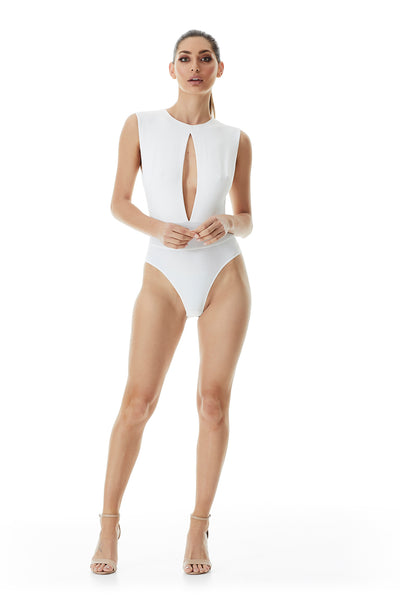 Heir Sleeveless Bodysuit | Ivory