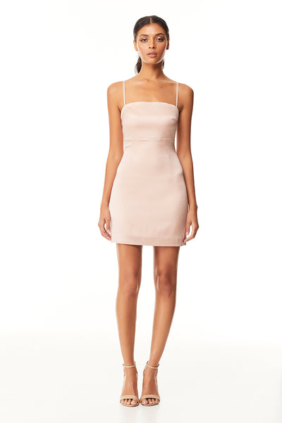Harper Bodycon Mini Dress | Blush