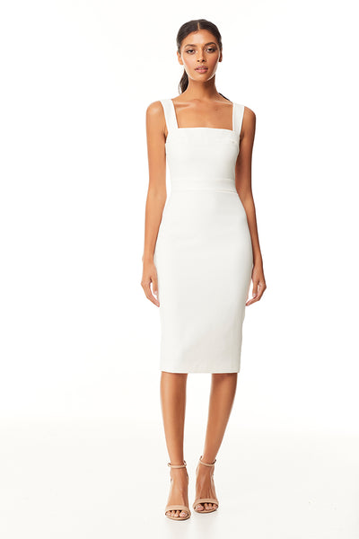 Emerson Midi Dress | Ivory