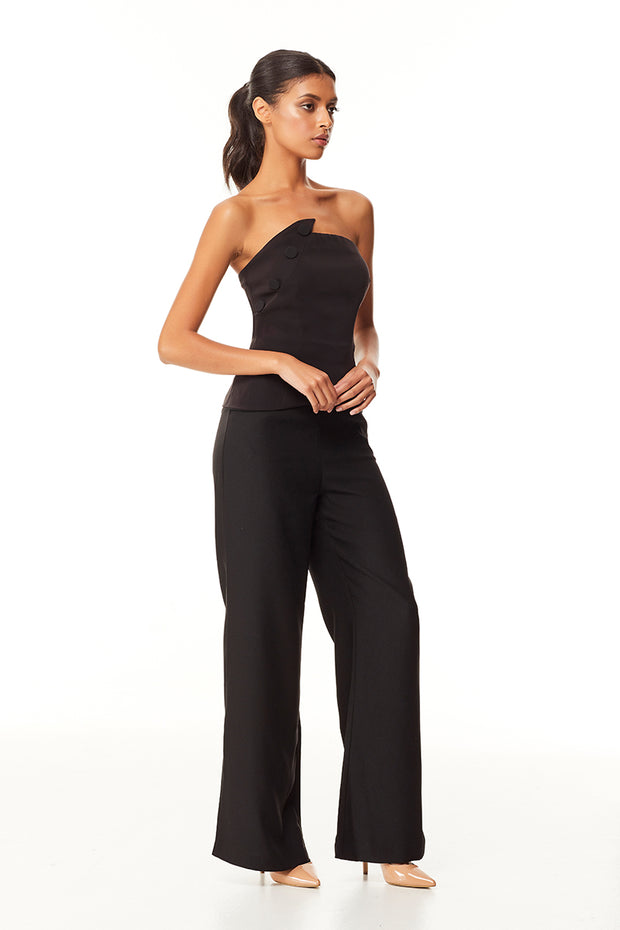 Alaura Strapless Top | Black