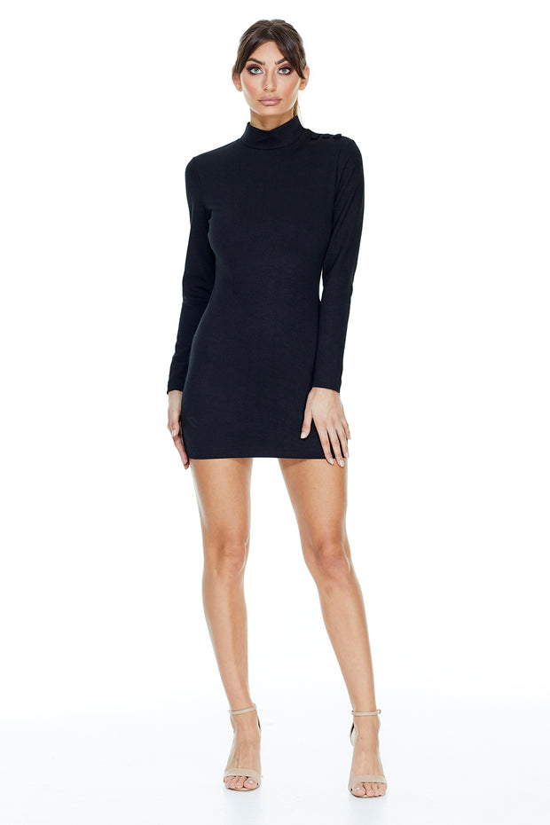 Carla Mini Dress | Black