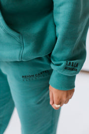 Tess Hoodie | Dusty Turquoise