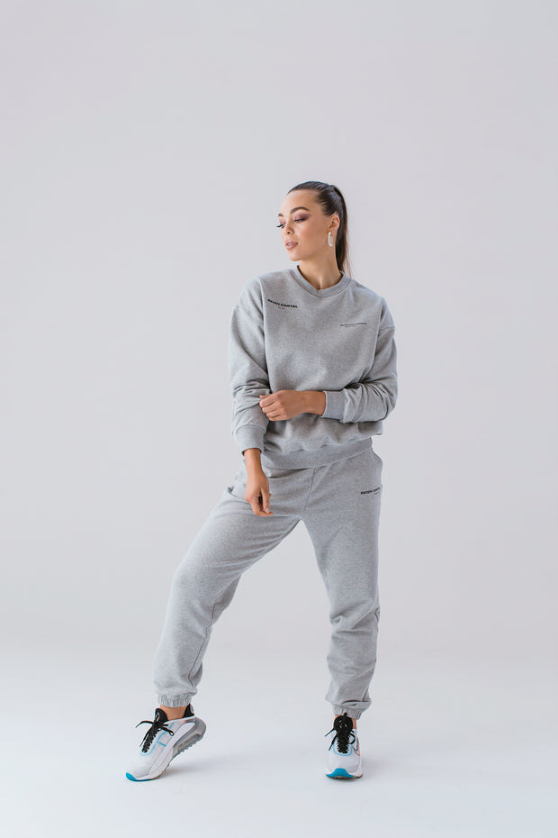Essential Crew Jumper | Grey