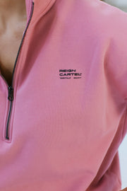 Half Zip Jumper | Dusty Coral
