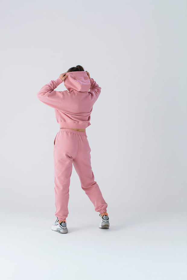 Essential Track Pant | Dusty Coral