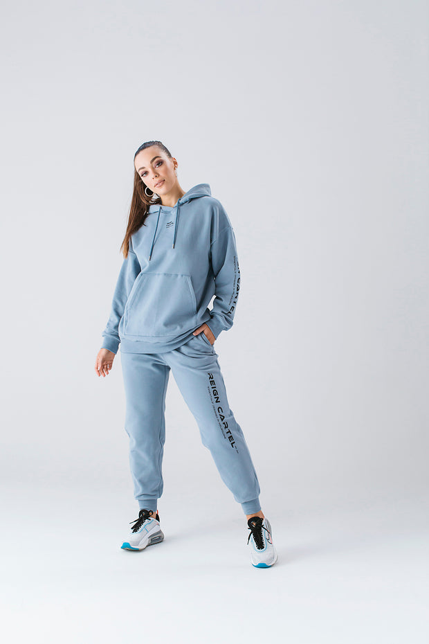 Essential Hoodie | Dusty Blue