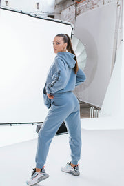 Essential Track Pant Relaxed Fit | Dusty Blue