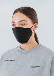 Two Pack | 3 Layer Face Mask- Government Standard | Medium/Large Adult