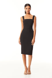 Emerson Midi Dress | Black