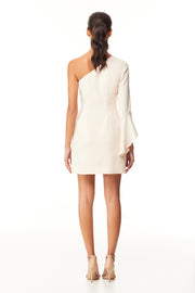 Bettina One Shoulder Mini Dress | Angel Wing