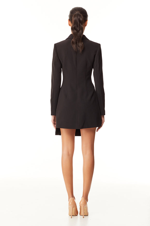 London Blazer Dress | Black