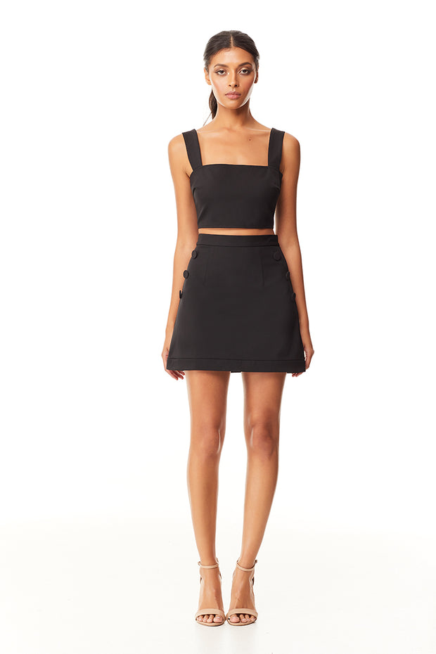 Nissa Mini Skirt | Black
