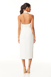 Kensleigh Midi Skirt | Ivory