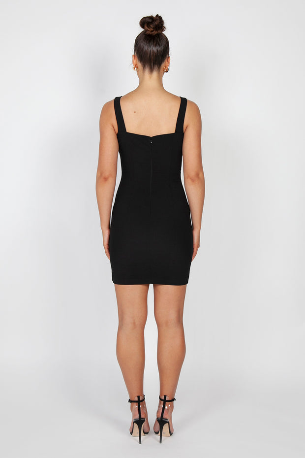 Zoe Mini Dress | Black