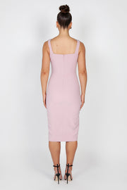Rosella Midi Dress | Lilac