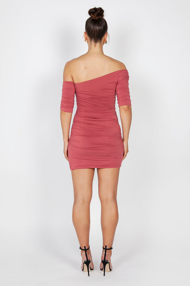 Kiki Mini Dress | Marsala