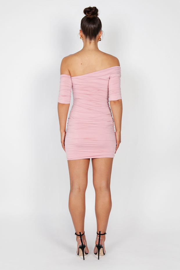 Kiki Mini Dress | Dusty Pink