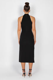 Lexa Halter Dress | Black