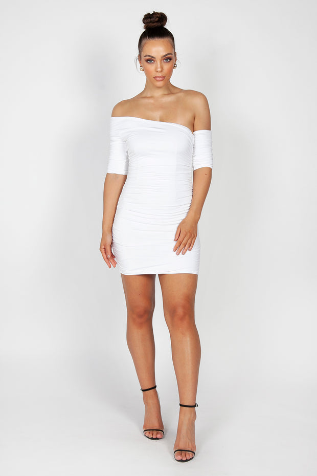 Kiki Mini Dress | White