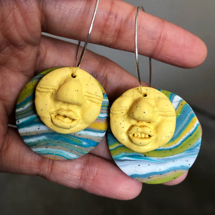 Signature Peep Double Dangles (Lemony Snickers)