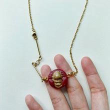 Load image into Gallery viewer, Resin Beep Extendable Necklace (Nacho Libre)