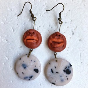 Peeps & Milky Space Cookie Statement Dangles
