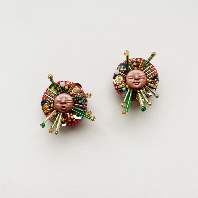 Beadass Medium Studs (The Very Hungry Caterpillar Hit Puberty)