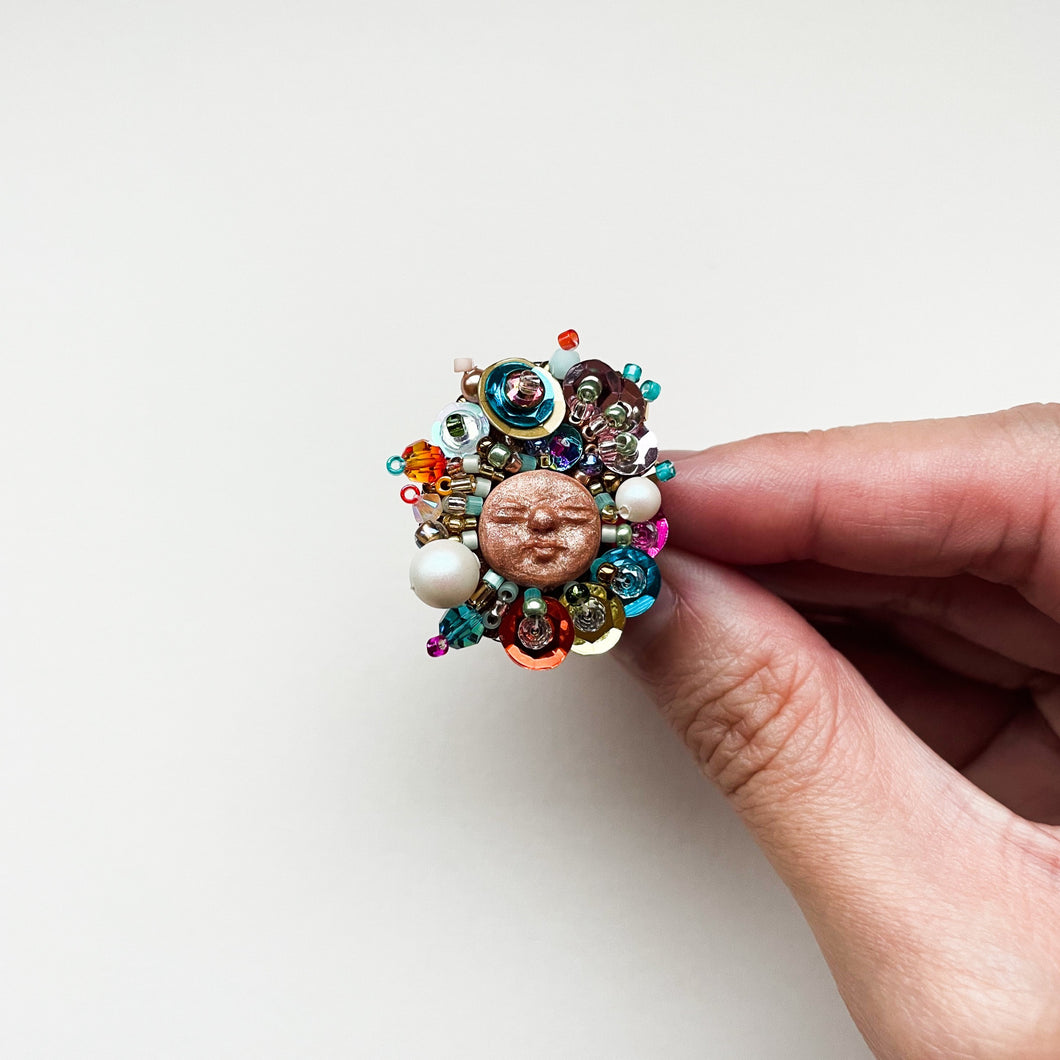 Beadass Adjustable Ring (Finger Licking' Good)