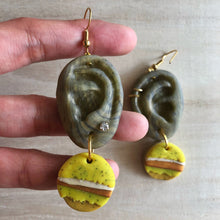 Load image into Gallery viewer, Statement Dangle Hearrings (Ear-ning For You)