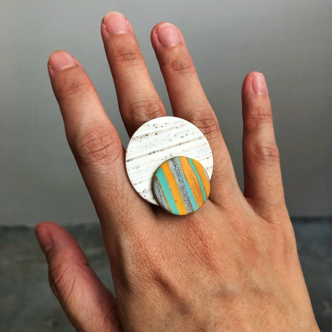 Millennial Falcon Statement Ring (Total Eclipse Of My Heart)
