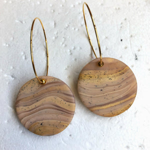 Standard Disc Single Dangles (Golden Curry Puffs)