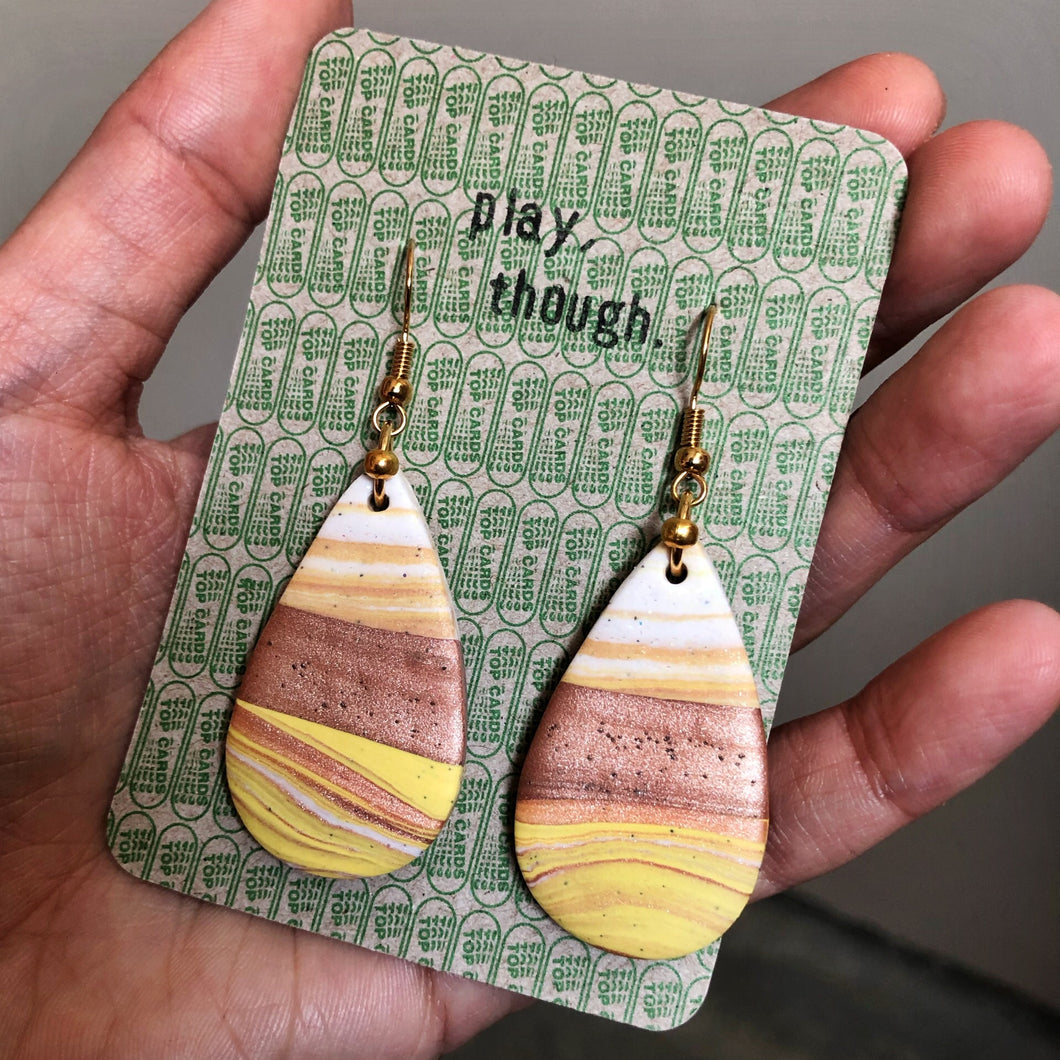 Teardrop Single Dangles (I've Got Sunshine)