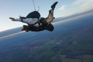 103 Year Old Set Skydiving Record?!