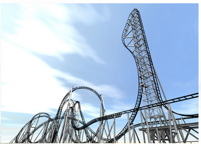 JUGGERNAUT THRILL LIST: THE WORLD'S STEEPEST ROLLER COASTER