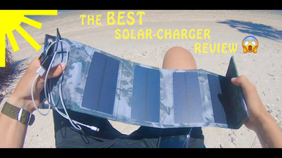 Product Review: Solar Powered Phone Charger