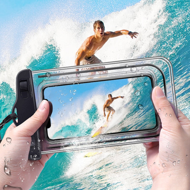 Universal Waterproof Phone Case - Waterproof to 30 Meters/100 Feet!