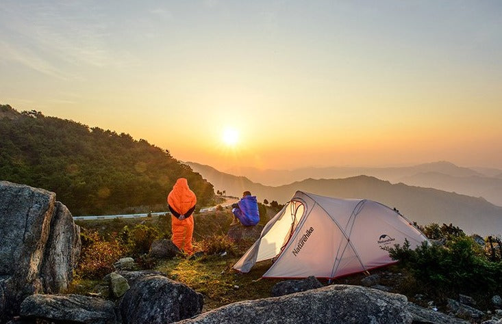 Ultralight 2 Person Silicon Coated Nylon Camping Tent