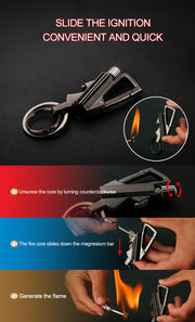 Multi-Function Survival Fire Starter