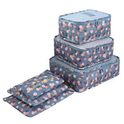 6pcs/set Travel Organizer Storage Bags - The Modern Travelers Store