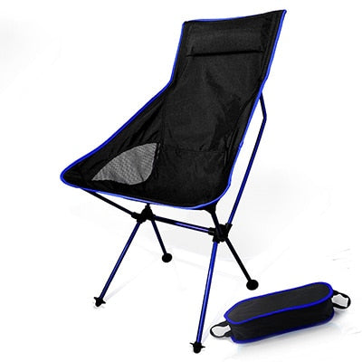 Lightweight High-Back Foldable Camping Chair